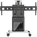 Avteq RPS-1000L Dual Rollabout Plasma/LCD Stand