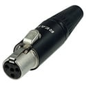 Neutrik RT4FC-B REAN TINY 4-Pole XLR Cable Connector