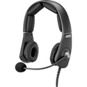 RTS MH-302 Dual-Sided Premium Lightweight Headset; A4M Connector