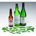 Rosco 80031 Amber Breakaway Whiskey Bottles 1/2 Dozen