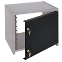 Raxxess SCDR-8 8U Steel Security Door