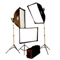 Savage Quartz Softbox Light Kit 500 Watts