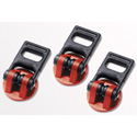 Sachtler 7004 Rubber Feet 100/150 Set of 3