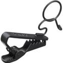 Black Tie Clip For Sony ECM-55B/66B -10 Pack