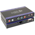 Smart AVI HDX-PROS Component Video/Audio/RS-232/IR CAT5 Extender Kit