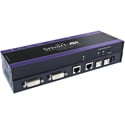 Smart-AVI RDU-2P 2-Port DVI-D and USB Switch with Integrated CAT6 STP Extender