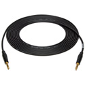 25ft Balanced Cable 1/4TRS-1/4TRS/Black