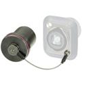 Neutrik SCNO-FDW-A Protection Cover for D-series opticalCON Receptacles - Black