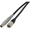 Sound Devices Power Cable -Hirose HR 4P to Lemo 4P - 1 Foot