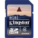 Kingston SD4-8GB SDHC CLASS 4 Flash Card - 8GB