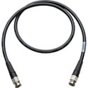 Canare L-5CFW HD-SDI / SMPTE 424M RG6 BNC Cable - 3 Foot Black