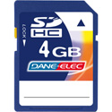Dane-Elec 4GB SDHC Memory Card