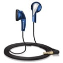 Sennheiser MX 365 Portable Earbud Headphones - Blue