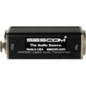 Sescom SES-AES-EBU-1 Impedance Transformer XLR Female to 75 Ohm BNC Female AES/EBU