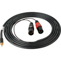 Sescom SES-IPOD-XLRM10 3.5mm Mini Stereo Plug to Dual XLR-M 10 Ft