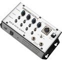 Sescom SES-MIX-AMP4 Flexible 4-Channel Stereo Mixer and Power Amp