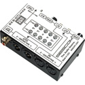 Sescom SES-OTLMAX RCA to XLR Pro Match Audio Level Converter VU & Level Controls