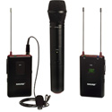 Shure FP125 Lavalier/VP68 Handheld Combo Wireless Mic System - 470-494MHz