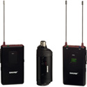 Shure FP135 Bodypack/Plug-On Combo Wireless Mic System - 470-494MHz