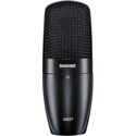 Shure SM27-SC Cardioid Side-Address Condenser Mic w/Shock-Mount