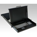 Rackmount 15.1in LCD and Keyboard