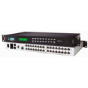 NTI SM-8X16-C5AV-LCD 8x16 Audio/Video Matrix Switch via CAT5