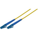 2-Meter 9u/125u Fiber Optic Patch Cable Singlemode Simplex LC to LC - Yellow