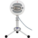 Blue Snowball Bundle High Quality USB Microphone - Textured White