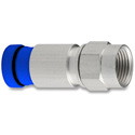 SNS1P6 Snap-N-Seal F Connector with Blue Sleeve