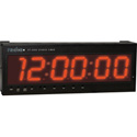 Radio Systems CT-2002 4-Inch LED Desktop Studio Clock & Timer with I/R Remote