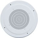 Speco G86TG 8 Inch Speaker Combination w/ 70/25V Transformer and 12 Inch Grille