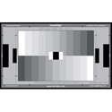 DSC Labs SRW-GS 11 Step Senior Grayscale Chart (24x14.7 Inch) -Glossy Finish