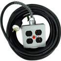 Stage Systems Power Cable w/light - 15 Amp 25Ft