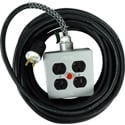Stage Systems Power Cable w/light - 100Ft - 20 Amp