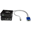 NTI ST-C5USBVA-300 VGA USB KVM Extender via CAT5 with Audio: Extend to 300 Feet