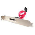 StarTech ESATAPLATE1 1 Port SATA to eSATA Slot Plate Bracket