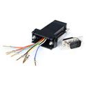 Startech GC98MF DB9 to RJ45 Modular Adapter M/F