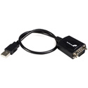 Startech ICUSB232PRO 1ft USB to RS232 Serial DB9 Adapter Hub with COM Retention