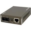 StarTech MCMGBSC055 1000 Mbps Gigabit Multi Mode Fiber Ethernet Media Converter
