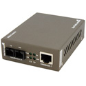 Startech MCMGBSC15 Ethernet to SC Single Mode Fiber Media Converter
