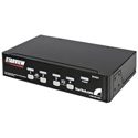 StarTech SV431 4 Port StarView KVM Switch PS/2 plus Serial