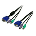StarTech SVPS23N1_6 6 ft 3-in-1 PS/2 KVM Cable