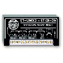 RDL ST-UMX3 3x1 Universal Audio Mixer - 3 Mic or Line Inputs x 1 Mic or Line Out