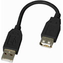 Startech USBEXTAA6IN 6in USB 2.0 Extension Adapter Cable A to A - M/F