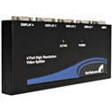 StarTech ST124PRO 4 Port High-Resolution VGA Video Splitter/DA