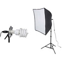 Smith-Victor 408085 KSB-500 500 Watt 1-Light Softbox Light Kit