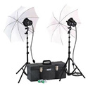 Smith Victor 2-Lightr Toolbox Kit with Umbrellas 1200W(total)