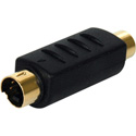 S-Video Male to RCA Female In-Line Adapter Color