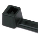 Hellerman Tyton 14 Inch Black Nylon Cable Ties (30 Pounds Tensile Strength) - 100 Pack