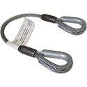 3/8x1.5 Foot Steel Cable Sling